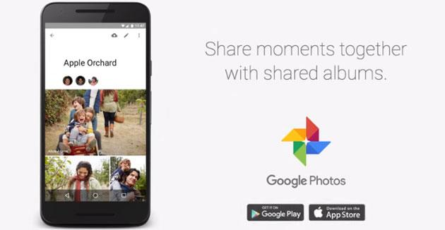 Google Photos presenta gli smart album