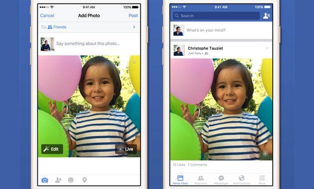 Google Foto come Facebook supporta le Live Photos di Apple