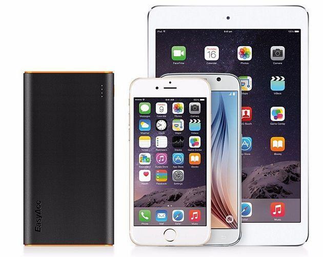 EasyAcc 10000 mah, Powerbank ultracapiente per iPhone e Smartphone