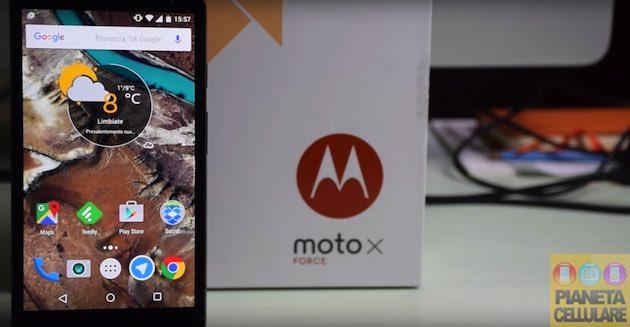 Recensione Motorola Moto X Force, Smartphone con display indistruttibile