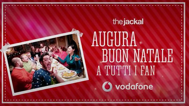 Vodafone augura Buon Natale con i The Jackal