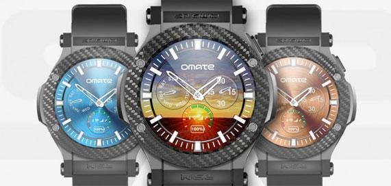 Omate Rise, orologio Android 3G con scheda SIM