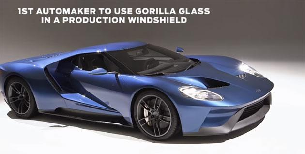 Gorilla Glass dagli smartphone sulle auto