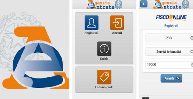 Agenzia Entrate su tablet e smartphone, il Fisco in App