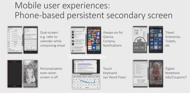 Microsoft progetta il secondo schermo per smartphone