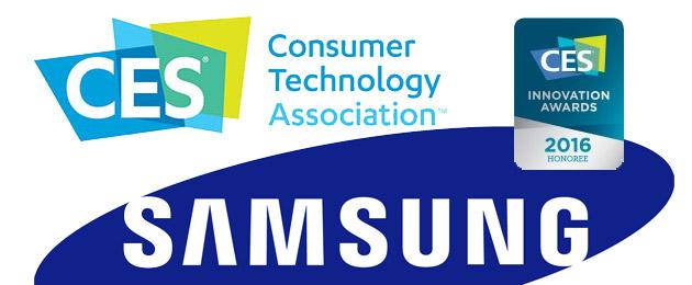 CES 2016, Samsung riceve 38 premi Innovation Awards