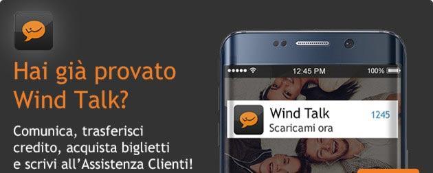 Wind Talk, app di messaggistica che serve anche ad altro