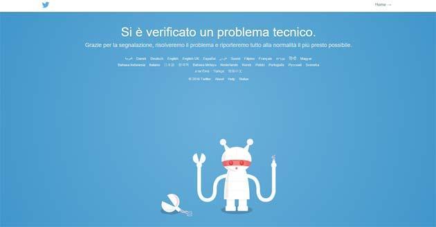 Twitter down del 19 gennaio risolto, il terzo in pochi giorni
