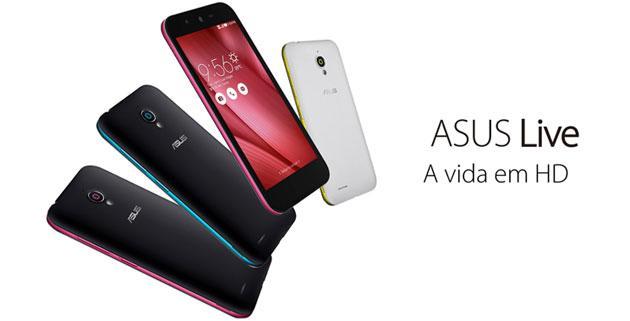 Asus Live ufficiale con display 5 HD e chip MediaTek