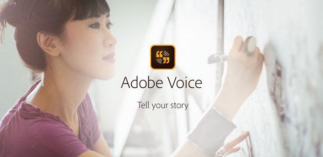 Adobe Voice arriva su iPhone