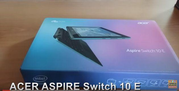 Acer Aspire Switch 10E: Recensione dopo 1 mese di utilizzo