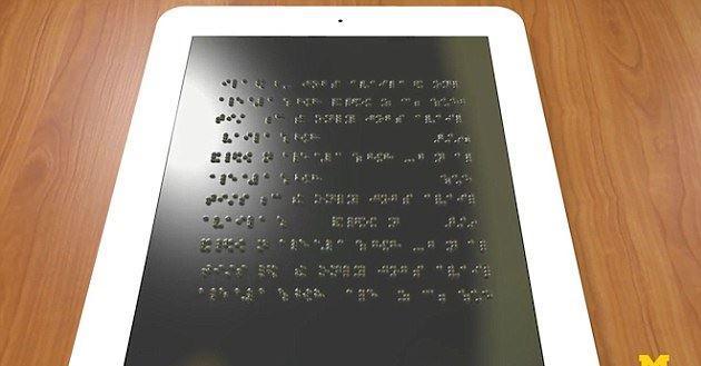Sviluppato Braille Kindle, eReader per i non vedenti