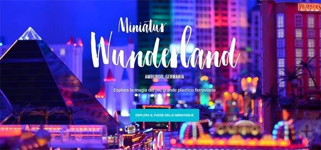Street View nel mini mondo del Miniatur Wunderland