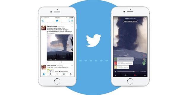 Twitter integra Periscope: trasmissione e visione video direttamente in Twitter