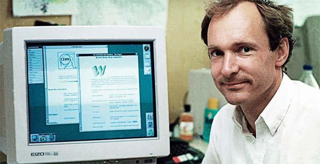 Tim Berners Lee promuove la diffusione del Web e diventa testimonial TIM