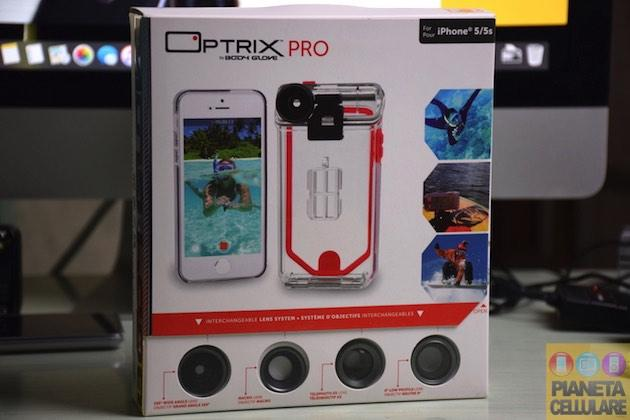 Recensione Cover Optrix Pro, trasforma il tuo iPhone in una Action Cam con ottica intercambiabile