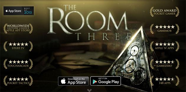 The Room Three disponibile su Play Store e AppStore