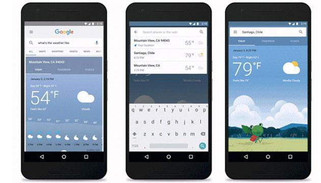 Google Now, nuova scheda Meteo accessibile anche dalla Home