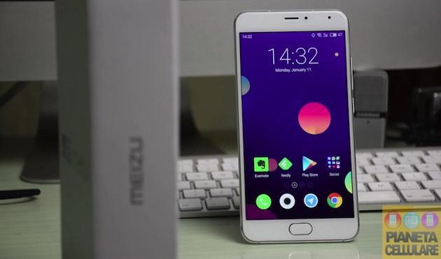 Unboxing Meizu Metal, Smartphone Android economico con scocca in metallo