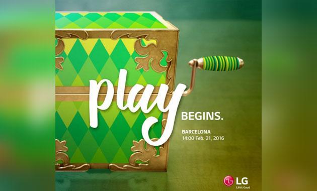 LG 'Play', un misterioso invito per il MWC 2016