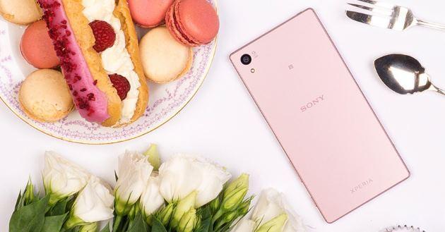 Sony annuncia Xperia Z5 nel colore Rosa