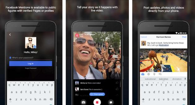 Facebook Mentions su Android e iOS solo per VIP
