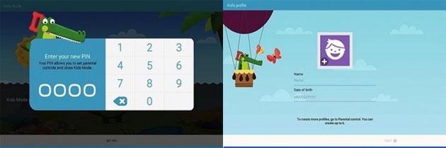 Samsung, nuova Modalita' Bambino e tablet per bambini in arrivo nel 2016