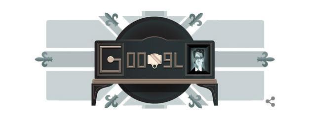 Google doodle ai 90 anni dalla prima dimostrazione di Televisione