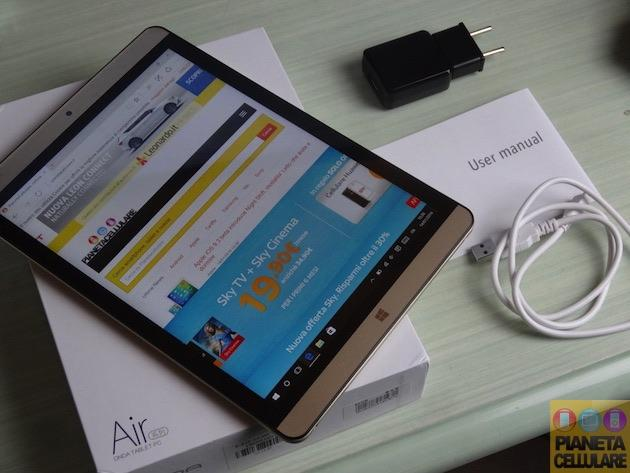 Unboxing Onda v919 Air CH, Tablet Windows 10 con 4 GB Ram e Intel Cherry Trail