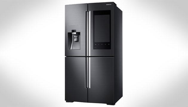 Samsung al ces 2016 col frigorifero intelligente con for Frigorifero samsung con schermo