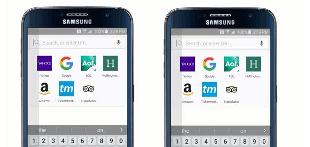 Il browser Samsung per Android supporta gli Ad blocker