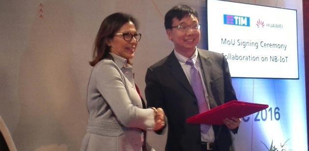 TIM e Huawei sviluppano la rete mobile per gli Oggetti connessi ad Internet