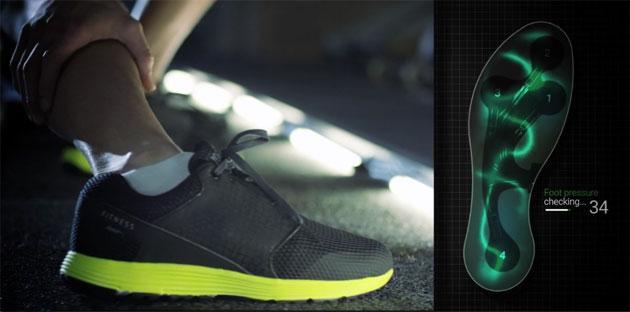 Samsung annuncia IOFIT, scarpa sportiva intelligente con sensori