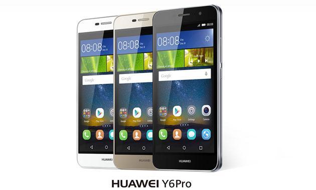 Huawei lancia Y6 Pro con fotocamera da 13 MP, batteria 4000mAh