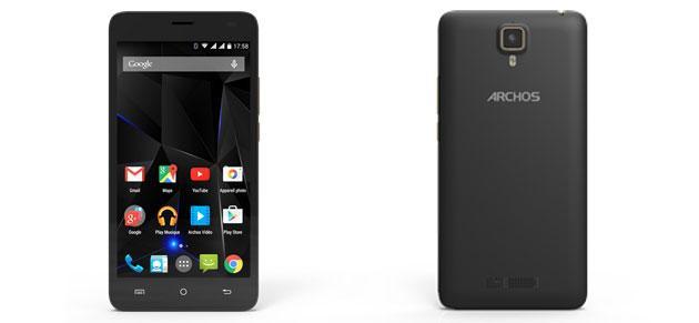 Archos 50d Oxygen, smartphone Android, 5 pollici FHD, octa-core da 180 euro