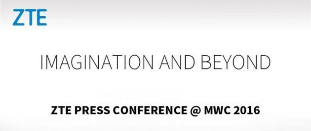 ZTE fissa conferenza stampa al MWC 2016 il 21 febbraio