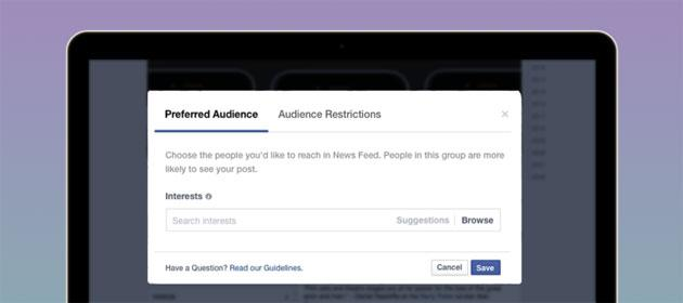 Audience Optimization: nuovo strumento per editori di pagine Facebook