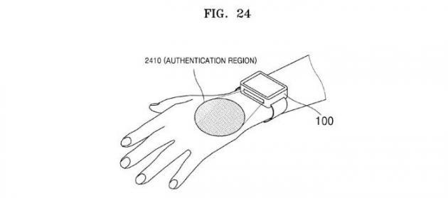 Samsung brevetta lo SmartWatch che riconosce le vene