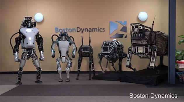 Alphabet (Google) vende Boston Dynamics a SoftBank