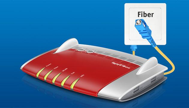 FritzBox 5490, primo router nato per la fibra ottica