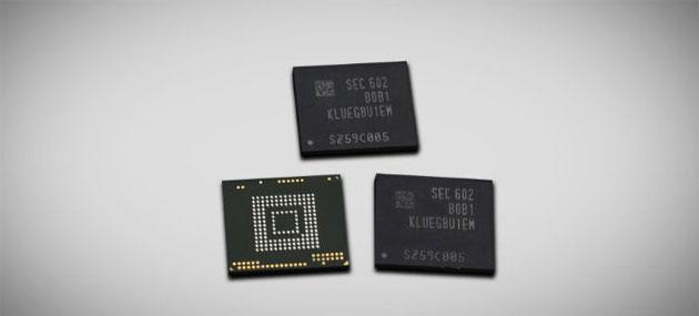Samsung produce memorie da 256 GB per smartphone potenti come pc