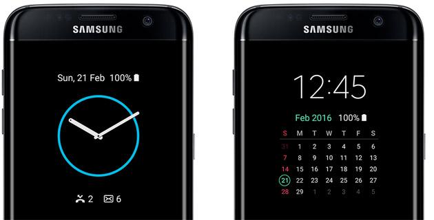 Display Always On su Galaxy S7, schermo sempre attivo