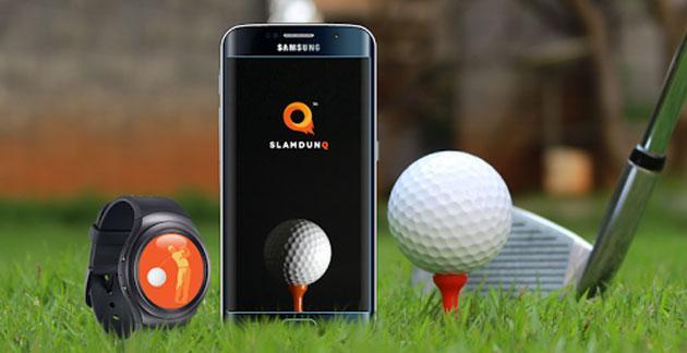 SlamdunQ Golf, app per smartwatch che perfeziona lo swing