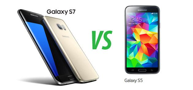 Confronto: Samsung Galaxy S7 vs Galaxy S5
