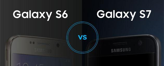 Confronto: Samsung Galaxy S7 vs Galaxy S6