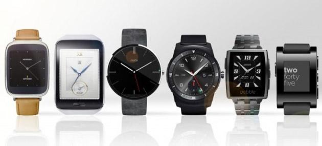 Foto Smartwatch, Apple Watch perde quota di mercato mentre cresce Android Wear