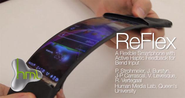 ReFlex il primo smartphone con display HD pieghevole di LG