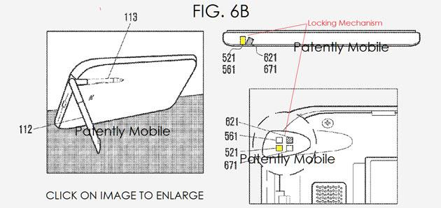 S Pen che serve come stand per smartphone brevettata da Samsung