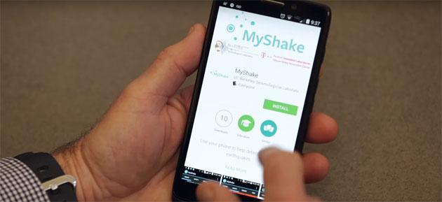MyShake, app che sfrutta gli Smartphone per rilevare Terremoti