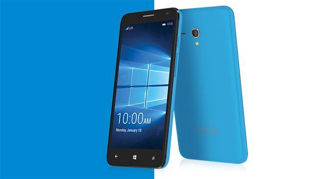 Alcatel Idol 4 Pro con Windows 10, render e foto dal vivo